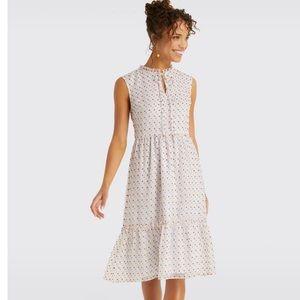 Draper James NWT Swiss Dot Midi Dress Size 10